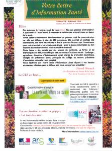 Lettre d'Information Santé C.L.S