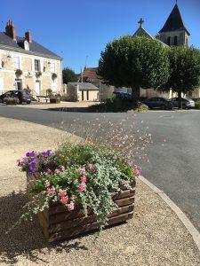 Coeur du village Bossay sur Claise 2017